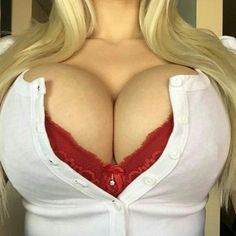 Busting blonde tits — img 9
