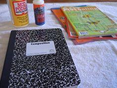 DIY: Mod Podge Journal   You Frill Me