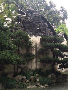 Yu Garden, dragon, Shanghai, China