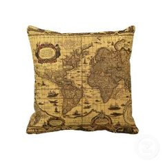 World map blanket map blanket blue blanket baby map blanket old world map throw pillow this would go great in a nautical theme room or gumiabroncs Image collections
