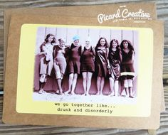 Funny birthday cardntage funny nun here is to another year of bad funny vintage photo friendship greeting card we by picardcreative m4hsunfo