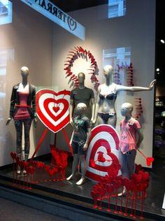 Valentines day windows 2013 - Clothing, Underwear & Lingerie - Ispira.Blog