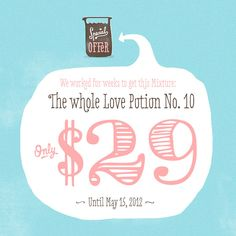 Love Potion No. 10 (Typefamily) by HVD Fonts, via Behance