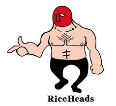 RiceHeads masked man