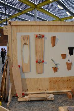 Buutvrij: Stoomgebogen longboards by Ruben v/d Scheer live op ShowUP 2015.