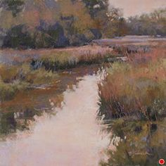 Calm and Quiet by Barbara Jaenicke Pastel ~ 12 x 12