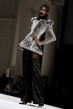 Sessilee @ Jean Paul Gaultier Spring/Summer 2009 Haute Couture