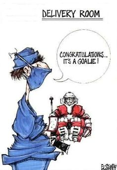 For all hockey goalie moms.a special breed of hockey mom Hockey Baby, Hockey Goalie, Field Hockey, Hockey Teams, Funny Hockey, Hockey Stuff, Dek Hockey, Hockey Boards, Hockey Rules