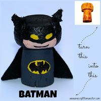 Make a Batplane for your childs batman figure using a piece of cardboard and a toilet roll tube. FREE PRINTABLE batman logo included. A simple craft for all superhero fans! Perfect for boys