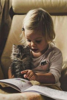 reading to your kitty
