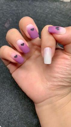 Nail Art Designs Videos, Ombre Nail Designs, Ombre Nail Art, Ombre Nail Polish, Cute Summer Nail Designs, Cute Nail Art Designs, Nail Art Videos, Nail Polish Designs, Nails Design