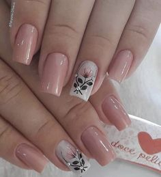 french tip nails Elegant Nails, Classy Nails, Stylish Nails, Trendy Nails, Toe Nails, Pink Nails, Fall Nail Art Designs, Nails Only, Pretty Nail Art