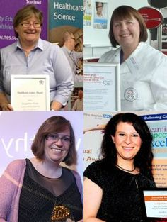 Jackie Wales FIBMS, Diane Anderson MIBMS, Sue Kenworthy CSci FIBMS, Sandra Richards MSc CSci MIBMS Biomedical Science, Wales, Health Care, Celebrities, Celebs, Welsh Country, Celebrity, Health, Famous People