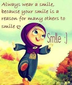 Always wear a smile because your smile is a reason for many others to smile :) #nicequote, #quote Always Smile Quotes, Life Image, Only Facebook, Smile Pictures, Tea Blog, Islamic Cartoon, Islamic Messages, Islamic Quotes, Islamic Teachings