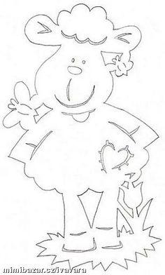RUČNÍ PRÁCE - JARNÍ - VELIKONOČNÍ VYSTŘIHOVÁNKY 3 Kirigami, Fruit Crafts, Easter Crafts, Stencils, Paper Cutting Patterns, Looney Tunes Bugs Bunny, Baby Quiet Book, Cut Animals, 3d Cards