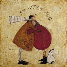 An Extra Hug by Sam Toft