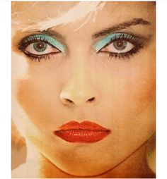 Debbie Harry 1980 Makeup, Punk Makeup, Hair Makeup, Cactus Cross Stitch, Blondie Debbie Harry, Magic Bands, Female Stars, Girl Bands, Wedding Hair And Makeup