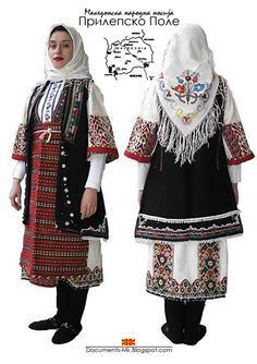 Folk costume of Prilepsko Pole, Macedonia