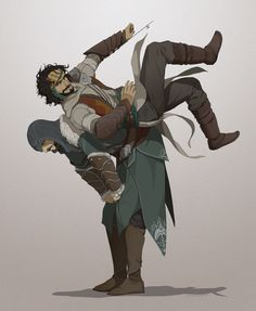 Yusuf Tazim and Ezio in Assassins Creed Revelations