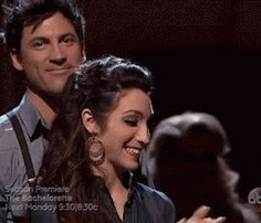 Meryl and Maks week 9 waiting for results