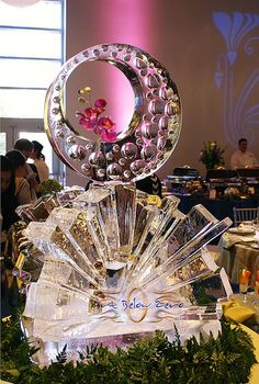 Springshine 3D Ice Sculpture  _Ice Sculpture _Wedding _Events