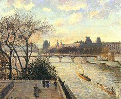 Renoir, Paul Cezanne, Claude Monet, Painting Gallery, Art Gallery, Camille Pissarro Paintings, Pissaro Paintings, Jean Antoine Watteau, Art Sur Toile
