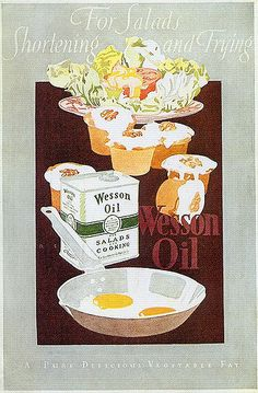 Wesson Oil, 1920