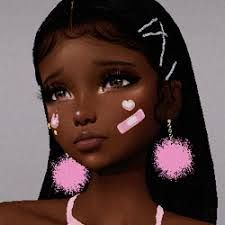 Black Love Art, Black Girl Art, Black Girl Magic, Black Girl Swag, Aesthetic Girl, Aesthetic Anime, Princesas Da Disney Punk, Photographie Indie, Virtual Girl