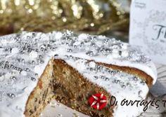 Vasilopita Cake, New Year's Cake, Greek Desserts, Kiss The Cook, Cheesecake Cupcakes, Sweet Recipes, Food And Drink, Ice Cream, Yummy Food