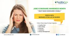 Keeping Active by Doing 30 Minutes of the #Exercise of #Moderate Intensity on Five or More Days a Week May Also Help #Prevent #Migraines. #MigrainsAwarenessMonth