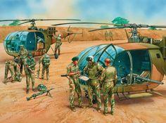 -Rhodesian Selous Scouts !