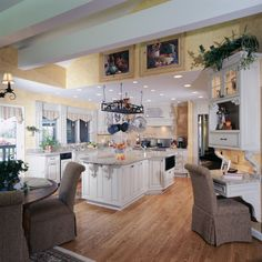 The #Kitchen Master created this space for family & friends.  @Kitchen & Bath Channel