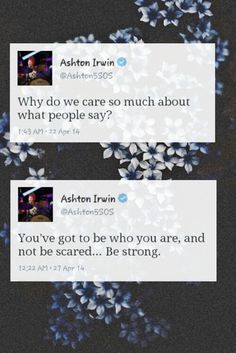 This is my inspiration, this guy right here is my world. Love you ash xx