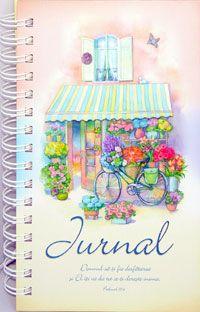 Carnețel Jurnal - Psalmul 37:4 - Acest jurnal este în format A5, cu dimensiunile: 22/14,3/2,2 cm. El conține 95 de pagini color, cu versete biblice pe fiecare foaie și este legat cu spirală metalică. Fiecare pagină prezintă rân... - http://www.carti-duhovnicesti.ro/-carnetel-jurnal-psalmul-374-p-1717.html