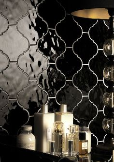 Arabesque Moroccan Lantern Tile - Italian Wall and Floor Lantern Tile - Anaheim, CA. To compliment any bathroom, kitchen, bedroom, or living room. For interior or exterior applications. Ceramic & Porcelain. Available to order directly from BV Tile & Stone. Contact us today (714) 772-7020 or visit our website www.bvtileandstone.com   Retail and Wholesale.
