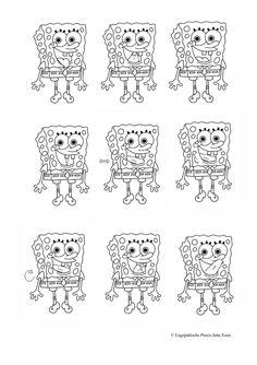 Mundmotorikkarten Zunge: Spongebob - Therapiematerial zu myofunktionelle Störung. Auf madoo.net für deine logopädische Therapie. Oral Motor, Speech Therapy, Worksheets, Kindergarten, Snoopy, Exercise, Teaching, Activities, How To Plan