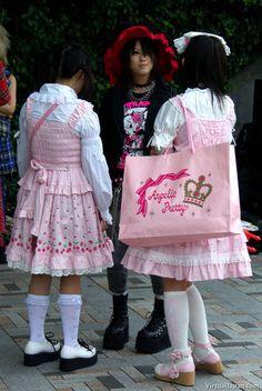 Harajuku Fashion, Kawaii Fashion, Lolita Fashion, Fashion Outfits, Angelic Pretty, Mix Style, Lolita Dress, Japanese Fashion, Cute Outfits