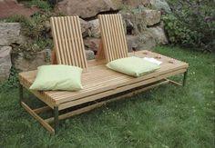 Garten Sofa http://www.festool.de/Aktionen/Festool-fuer-Heimwerker/Bauplan-Selberbauen-Holz/Seiten/Sitzmoebel.aspx