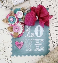 Sizzix Tutorial | Love Postage Valentine by Melissa Phillips Featuring ColorBox Ink