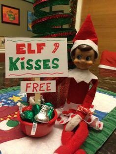 Elf on the Shelf - Free Kisses