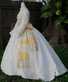 Another view of the Dimity dress c.1865