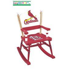 St. Louis Cardinal's -- children's rocking chair