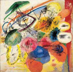 Vasily Kandinsky (1866 - 1944) - Black Lines, 1913  Oil on canvas  Guggenheim Museum, New York, US