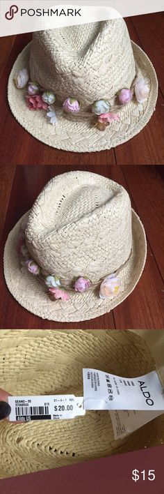 Aldo floral hat Brand new ALDO Accessories Hats