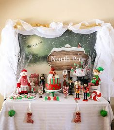 Christmas North Pole Holiday Party via Kara's Party Ideas KarasPartyIdeas.com The Place For All Things Party! #northpole #northpoleparty #christmasparty #holidayparty #christmaspartyideas #northpoleholidayparty (12)