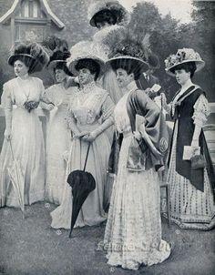 Edwardian party (1907)