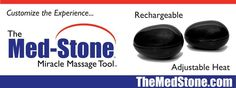 Product of the Week | The Med-Stone is a unique shape designed to allow you to penetrate the muscles and add heat, which helps increase healing blood flow to the site of injury. This heat helps damaged tissue repair itself faster. Heat also helps loosen up tight muscle fibers, so it is especially beneficial in a rehabilitation program when applied prior to stretching and exercising. Heat can also relieve muscle spasms and pain.