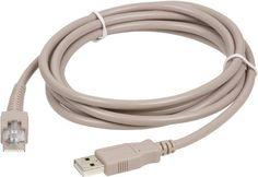 Symbol LS9208 USB Cable by Symbol. $12.99. CBA-U01-S07ZAR SYMBOL Symbol CBA-U01-S07ZAR 7FT Cable USB for Laser Barcode Scanners L