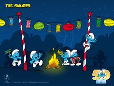 Free wallpapers Smurfs