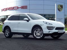 Used 2012 (62 reg) White Porsche Cayenne Diesel [245] 5dr Tiptronic S for sale on RAC Cars